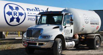 Propane Fuel Truck